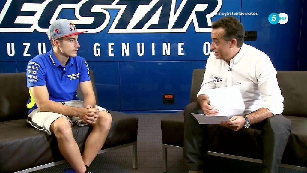 """Viñales, sobre Rossi: """"Tener a tu ídolo al lado y combatirle en la pista es una motivación"""""""