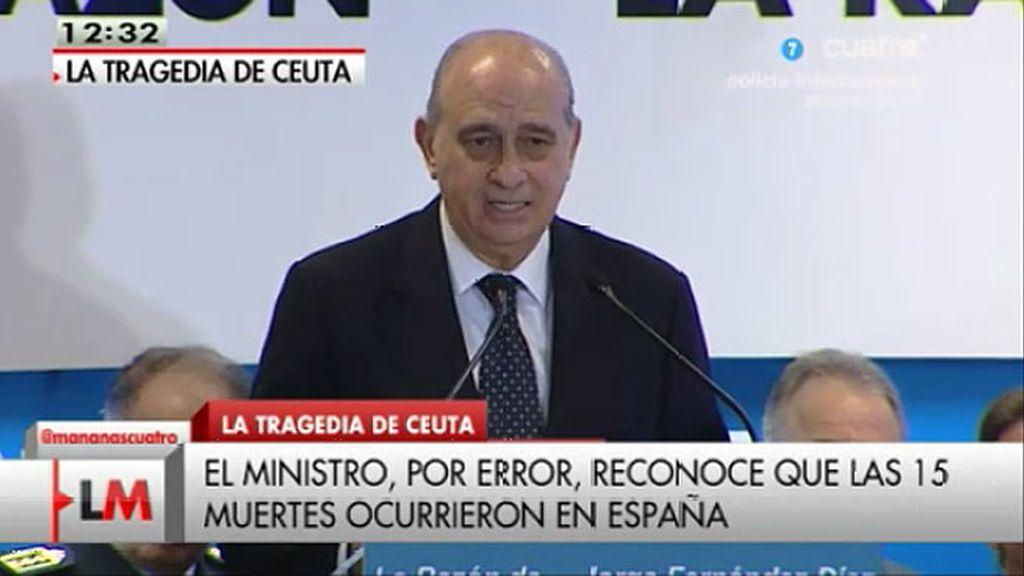 El lapsus del ministro Fernández Díaz