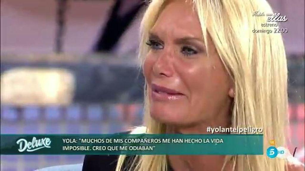 """Yola Berrocal, derrumbada: """"No quise abandonar porque rezaba un Padrenuestro"""""""
