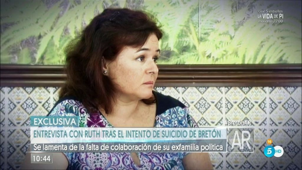 """Ruth Ortiz: """"Mis primos le pidieron al hermano de Bretón que contase lo que sabía"""""""