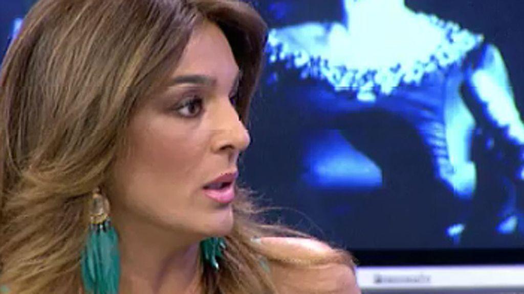 """Raquel Bollo acusa a Saúl Ortiz de """"jugar con el dolor"""" de Isabel Pantoja"""