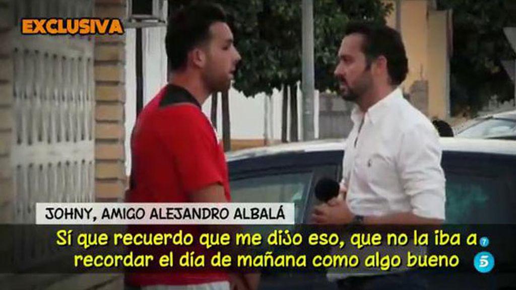 """Johny, amigo de Alejandro Albalá: """"Creo que sí se ha planteado dejar a Chabelita"""""""