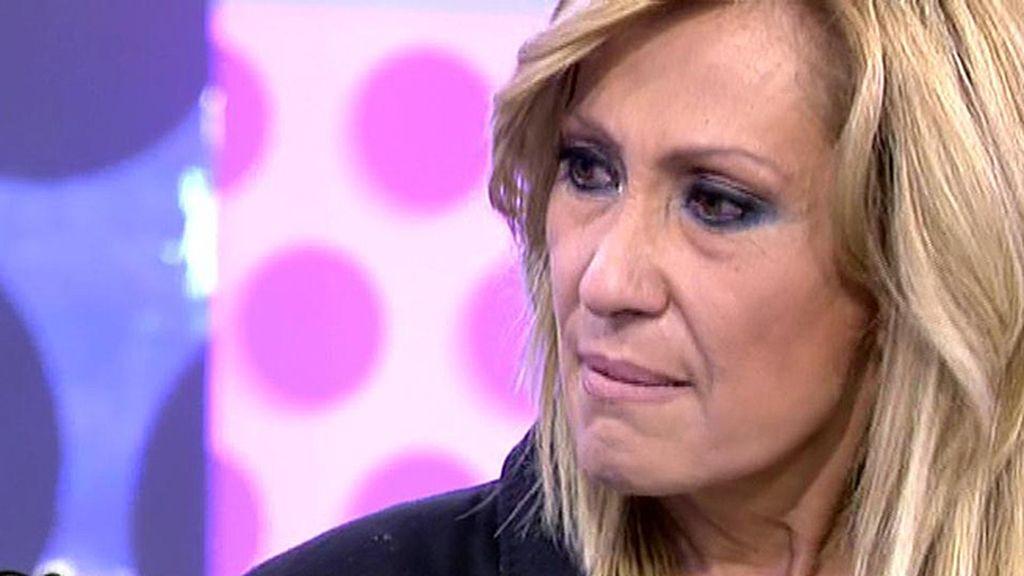 """Rosa Benito, a A. Mohedano: """"Me has dejado destruida pero te juro que salgo de esta"""""""