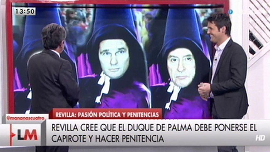 ¿A quién mandaría Miguel Ángel Revilla a 'hacer penitencia'?