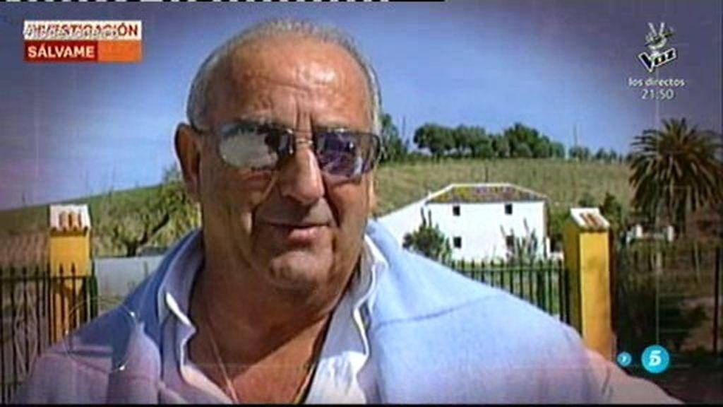 Humberto Janeiro, padre de Jesulín, podría estar pasando por una mala época