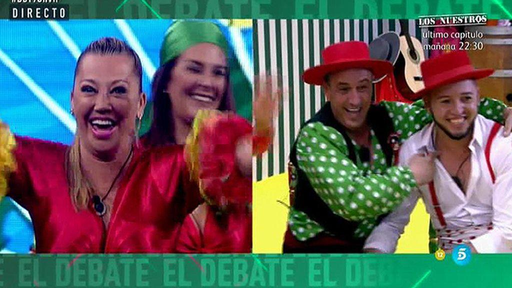 La broma del DBT: La falsa conexión en directo entre 'GH VIP'  y 'Big Brother Brasil'