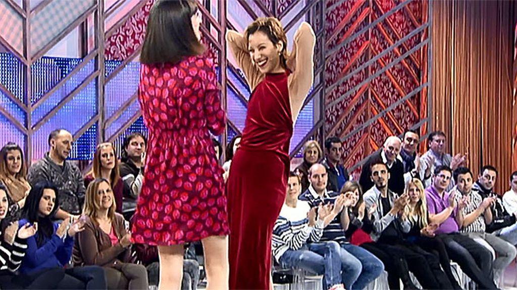 Natalia se reencuentra con su amiga Soraya
