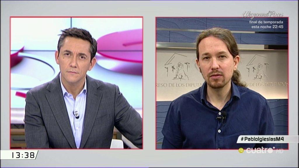 La entrevista de Iglesias en 'LM4', a la carta
