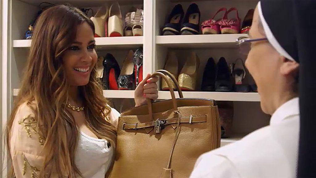 """Sor Lucía: """"Cuando Irene me dice que hay lista de espera para comprar un bolso, se me funden los plomos"""""""