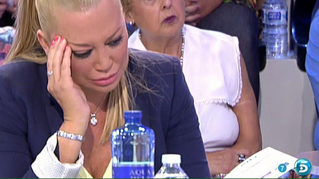 Rosa sufre un desmayo por una información que iba a darse sobre Amador Mohedano