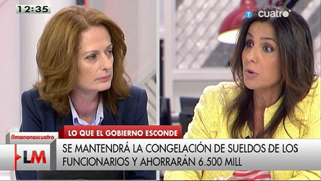"""Alicia Gutiérrez, a Carmen Morodo: """"Suena como un fenómeno atmosférico"""""""