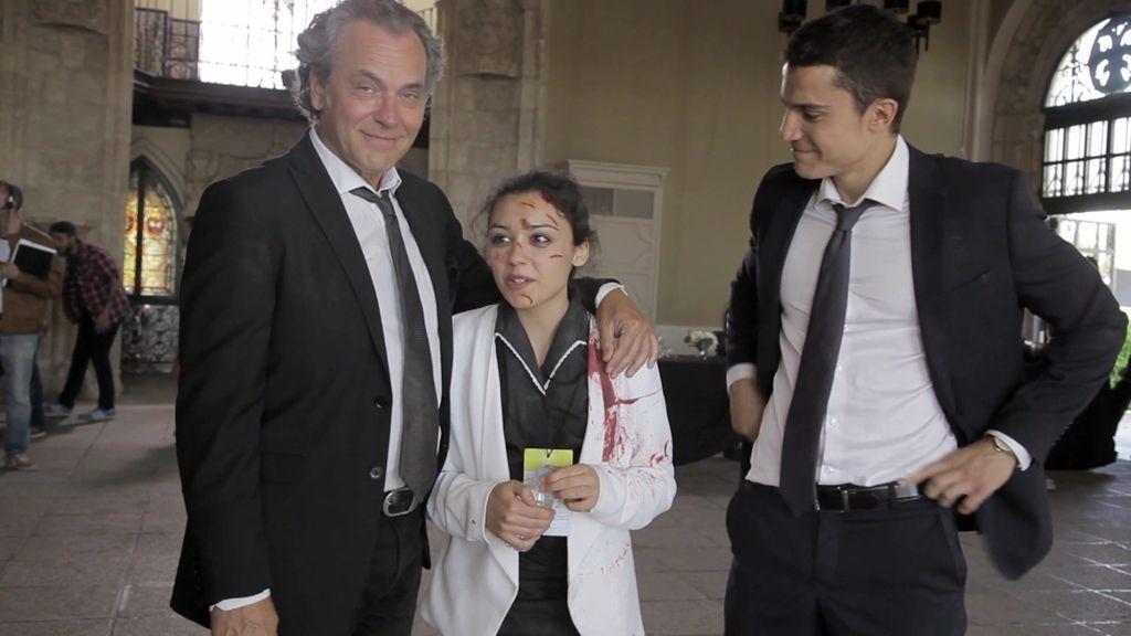 Álex y Coronado elogian el trabajo de Carla