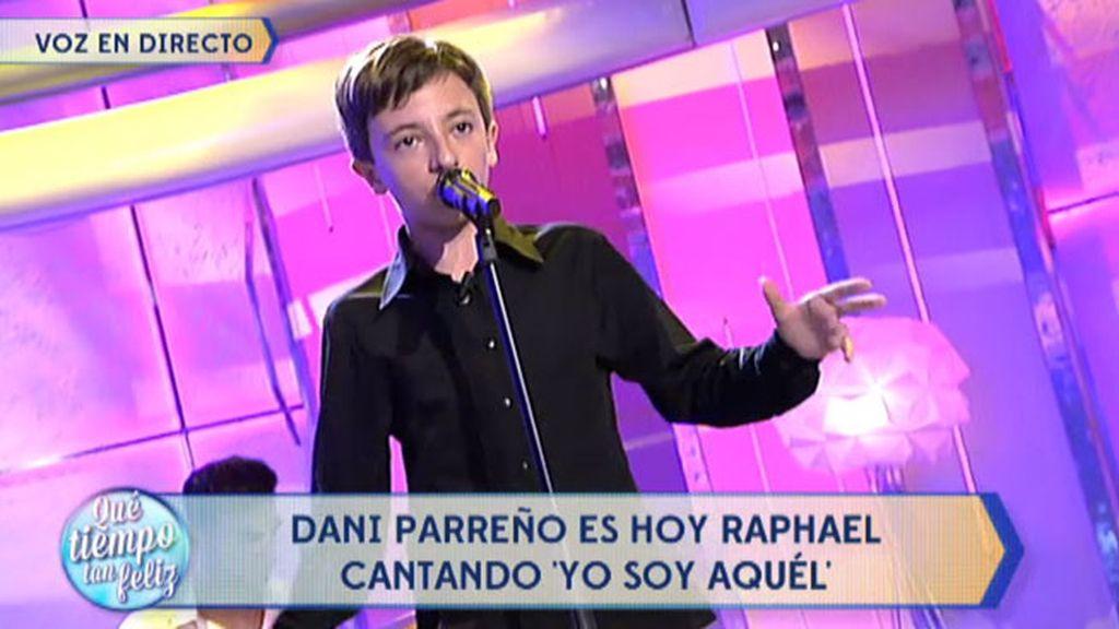 Dani Parreño se convierte en Rafael y canta 'Yo soy aquel'