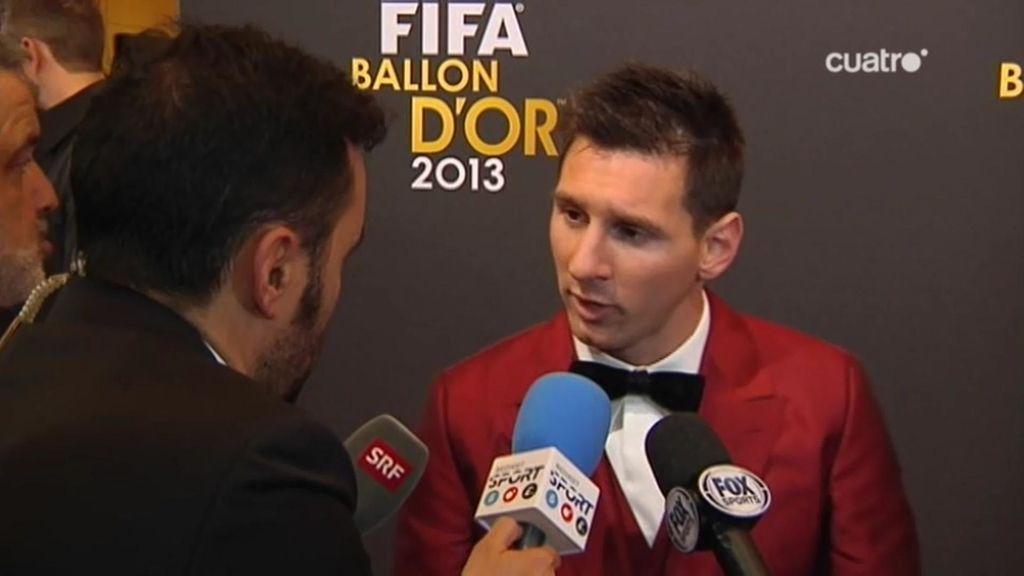 """Messi: """"No ha sido un año fácil por todo lo que se ha dicho de mí"""""""