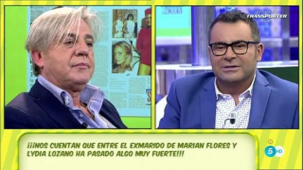 """Javier Ortega, de Lydia Lozano: """"Nos queremos mucho"""""""