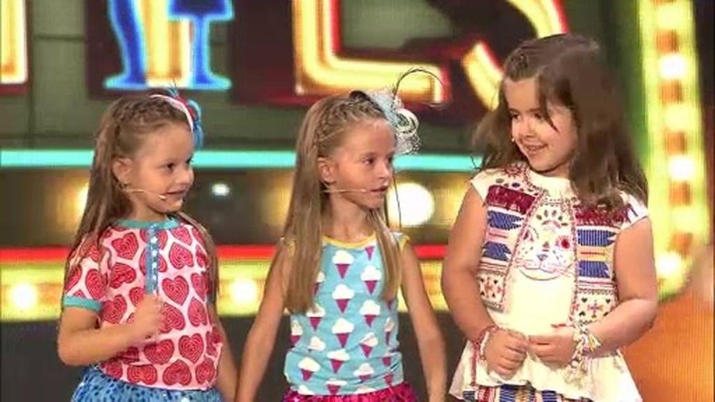 Claudia, Nayeli y Alba deslumbran con sus bailes de María Isabel y Shakira