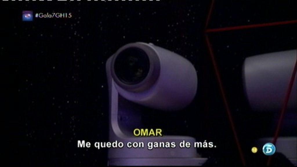 """Omar, tras la hora sin cámaras con Lucía: """"Me quedo con ganas de más"""""""