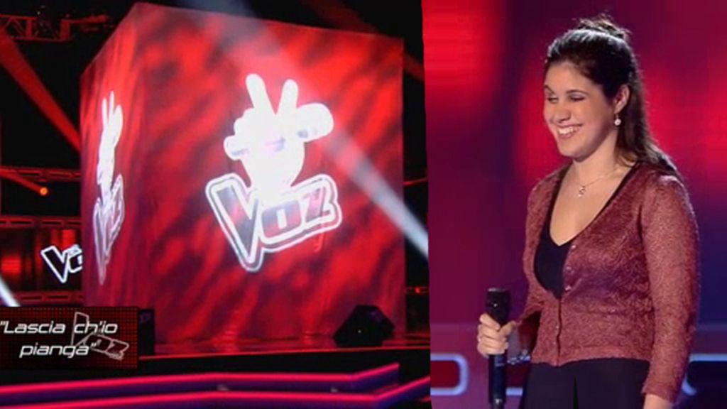 La actuación de Marina: 'Lascio ch'io panga'