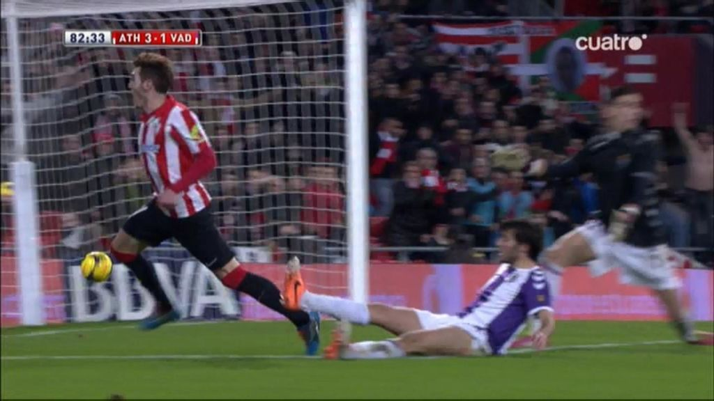 Gol de Ibai (Athletic 3-1 Valladolid)