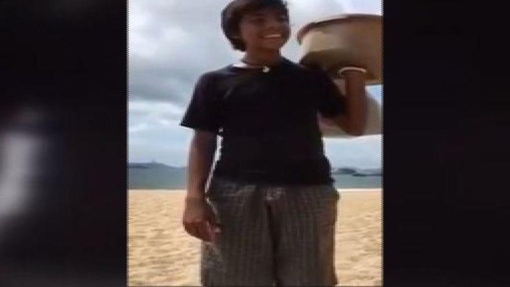 Este niño mexicano vende empanadas con mucho talento y se hace viral