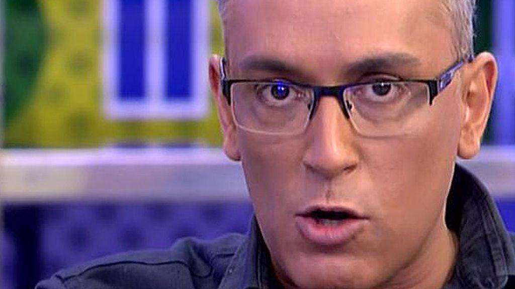 """Kiko Hernández: """"Quien va a habar con Isa Pantoja en 'SV' es Dulce"""""""
