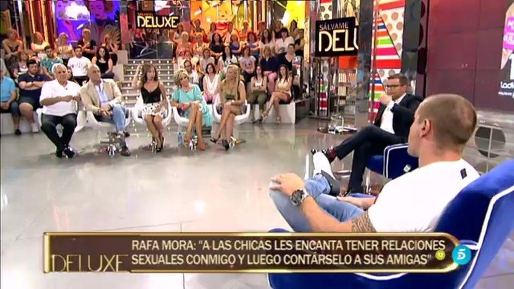 """Rafa Mora: """"He visto a chicas conocidas acabar muy mal para mantener sus vicios"""""""
