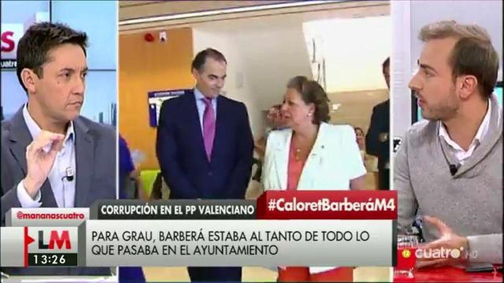 """J. Dorado: """"Rita Barberá le haría un gran servicio al PP si se apartara y dimitiese"""""""