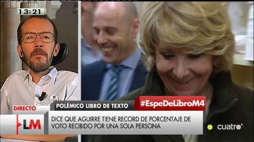 """Echenique: """"Aguirre pasará a los anales de la historia, pero por la corrupción"""""""