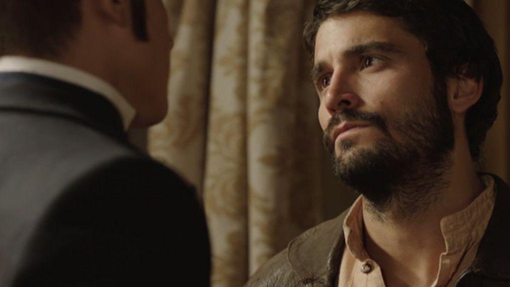 Don Joaquín amenaza a César con la cárcel