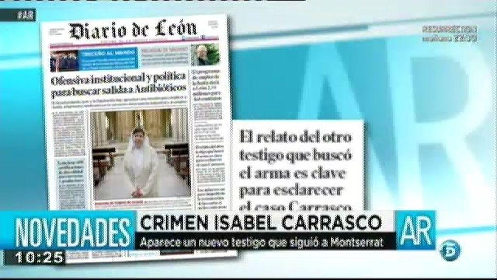 Aparece un nuevo testigo en el crimen de Isabel Carrasco