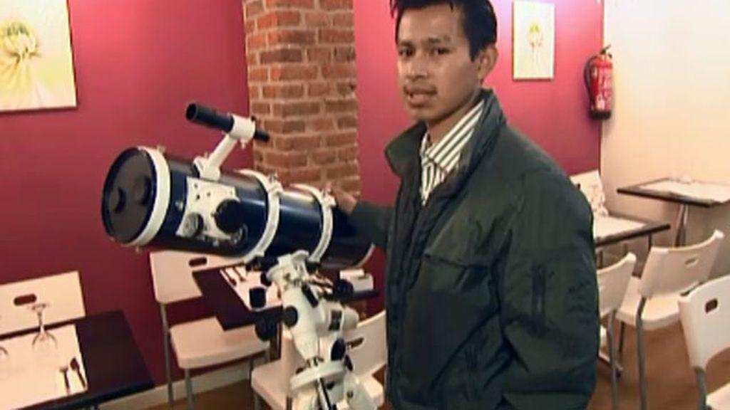 Vendo: telescopio para detectar O.V.N.I.S.