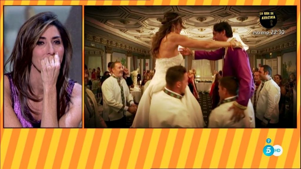El flashmob al más puro estilo Bollywood en la boda de Paz y Antonio