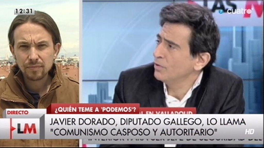 """A. Espada carga contra P. Iglesias y 'LMDC': """"Es diputado gracias a la información basura"""""""