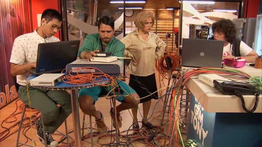 Berta tiene un problemilla con la impresora