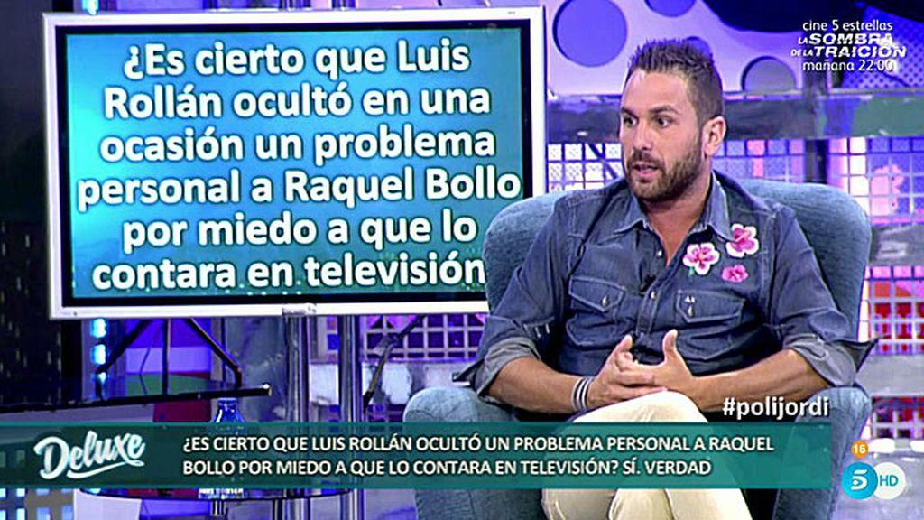 """Jordi: """"Luis no se fía de Raquel Bollo, cree que puede venderle por los pasillos"""""""