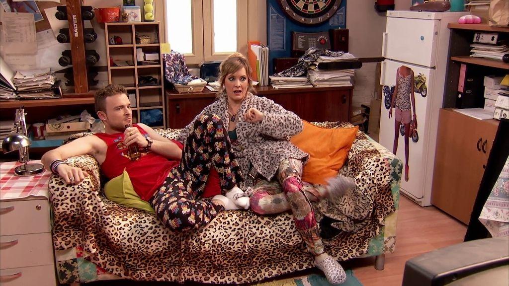 La Vane y el Christian se van a vivir juntos… ¡al despacho de Tony!