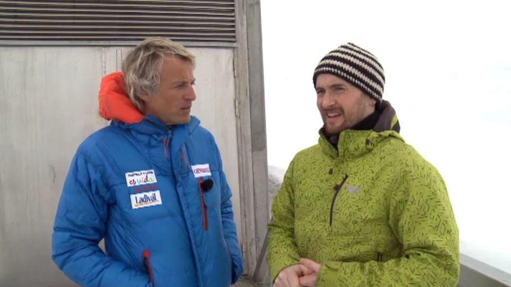 Juan Carlos, el único español en Svalbard
