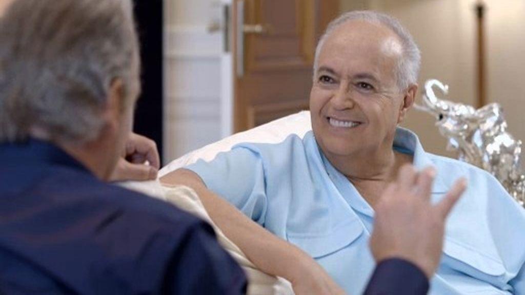 """José Luis Moreno: """"Aprendí a hablar griego con soltura en un mes"""""""
