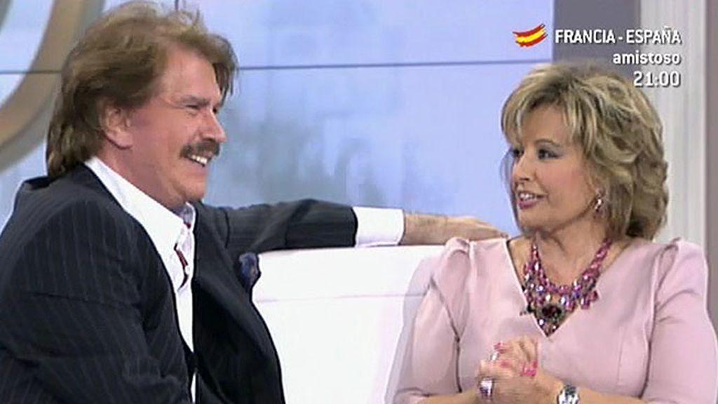 Mª Teresa podría mudarse a Las Palmas para estar con Bigote Arrocet, según Barrientos