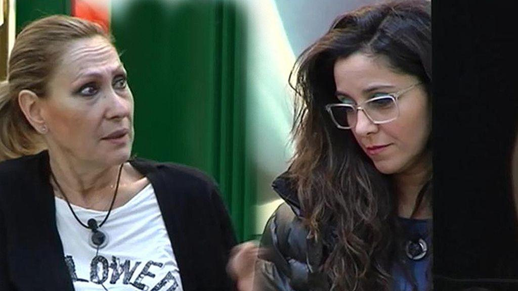 "Rosa Benito, sincera con Carmen López: ""Tú quieres que te expulsen"""