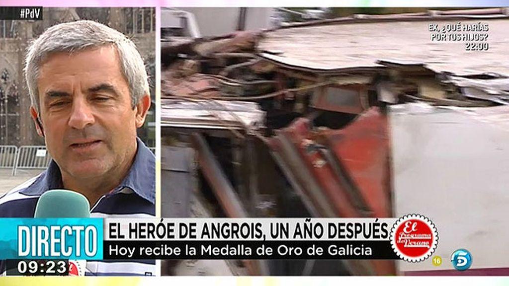"""Cristóbal, una de las víctimas de la tragedia del Alvia: """"La verdadera indemnización que pedimos es justicia"""""""