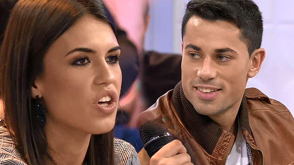 """¡ZASCA! Diego, a Sofía: """"No todos somos tan movidos cómo tu novio"""""""