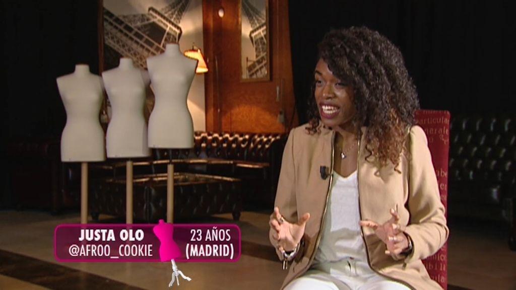 """Justa, nueva concursante de 'Quiero Ser': """"Voy a ser la nueva Beyoncé de Madrid"""""""