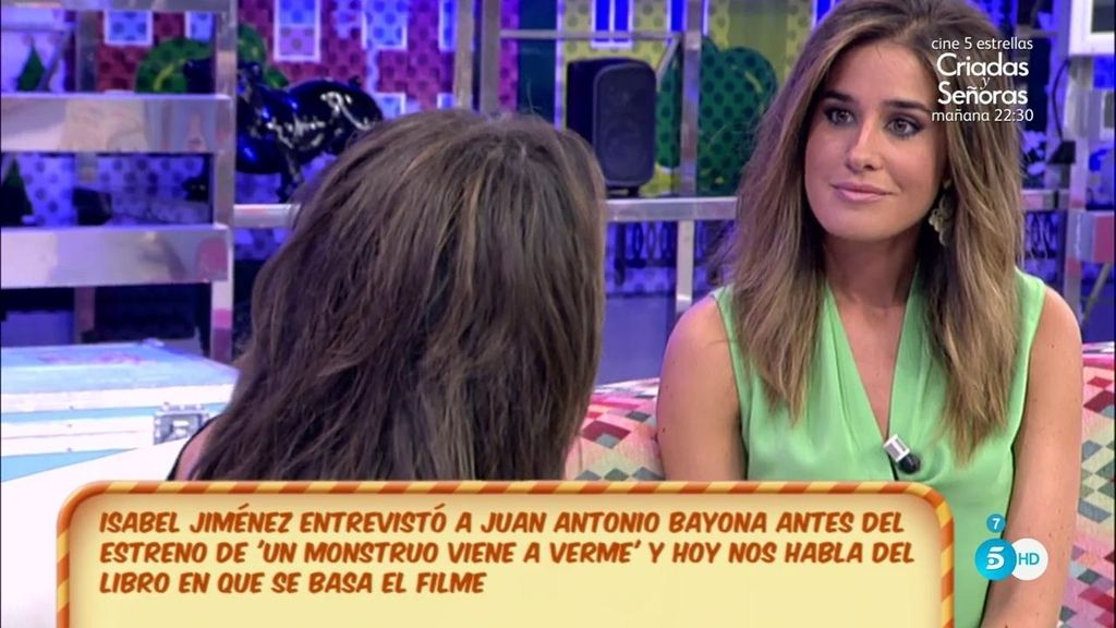 """Isabel Jiménez nos habla del libro """"Un monstruo viene a verme"""""""