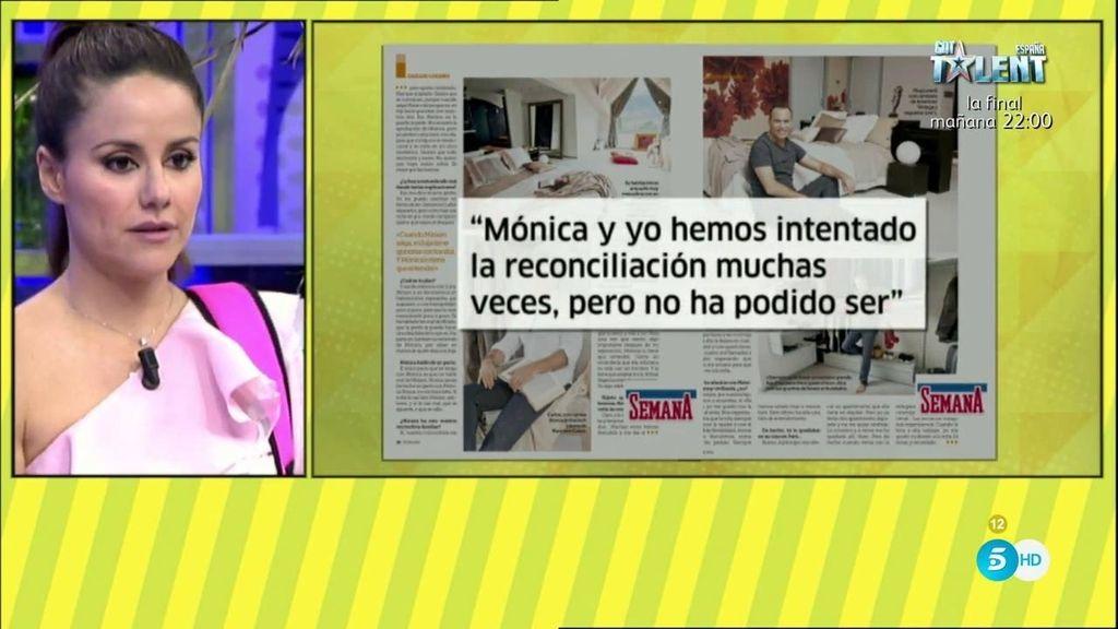 """Carlos Lozano, en 'Semana': """"Mónica tiene que aceptar a Miriam sí o sí"""""""