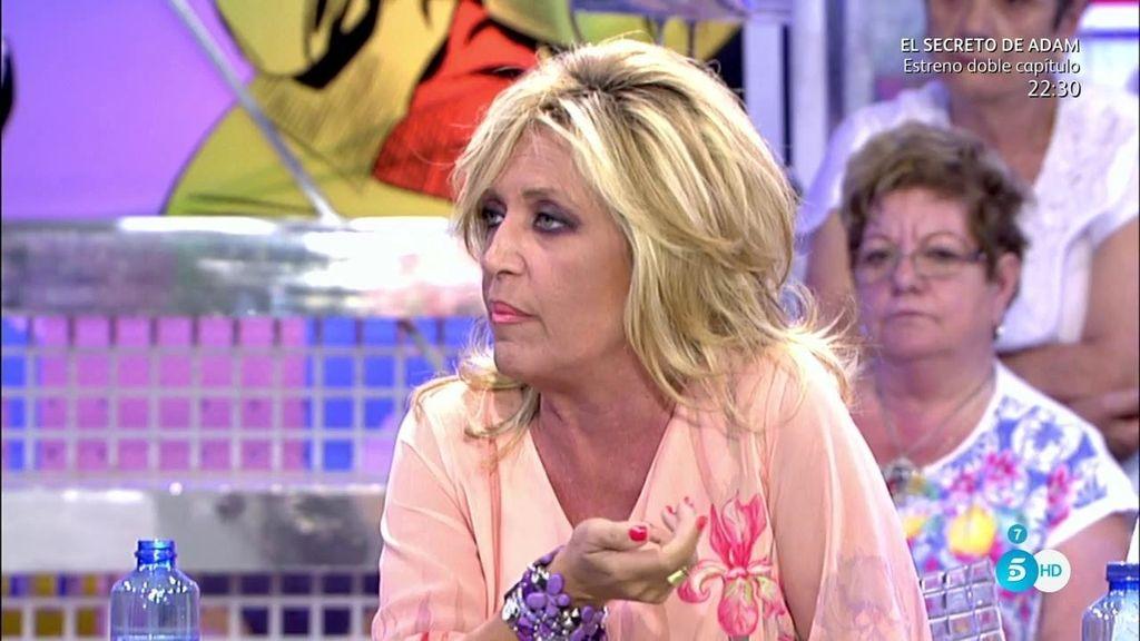 Lydia Lozano felicita a Rocío Carrasco por su boda y se disculpa con Fidel Albiac