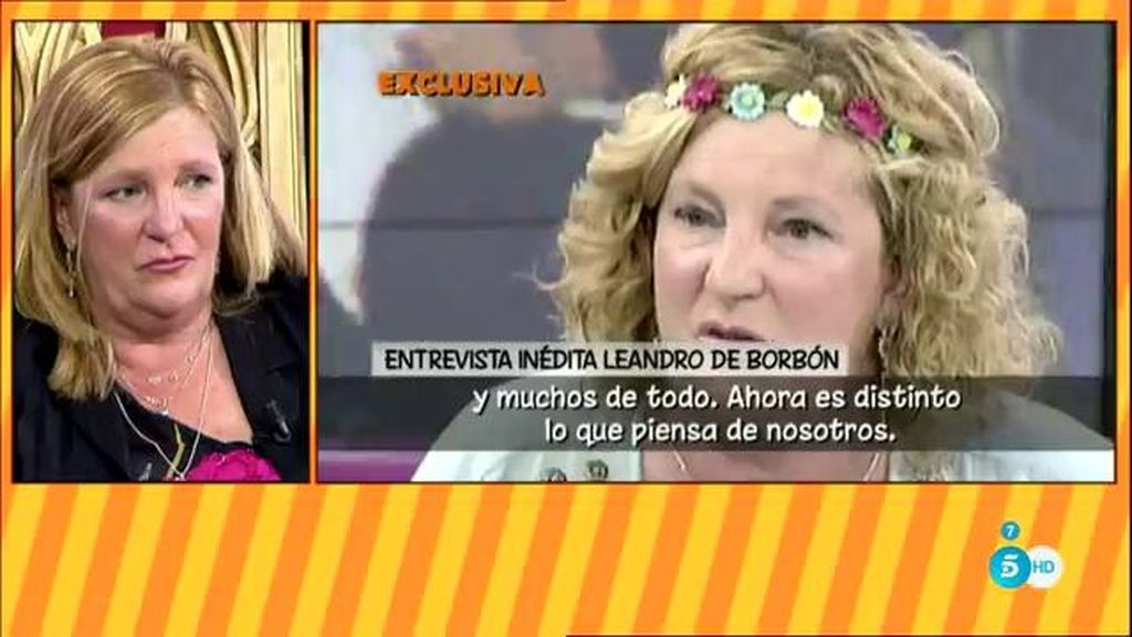 Blanca de Borbón, muy sorprendida por unas declaraciones inéditas de su padre
