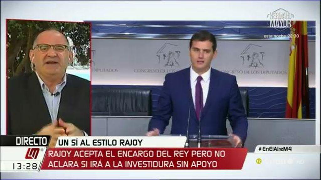 """Antón Losada: """"Ciudadanos es como el protagonista de las películas de terror, todos sabemos que va a morir"""""""