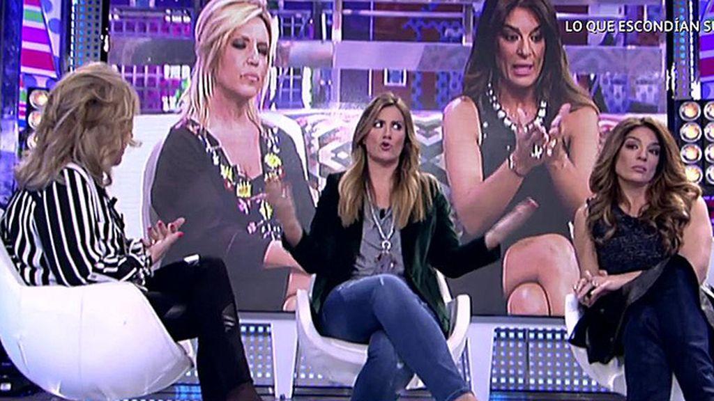 "Lydia Lozano reitera que no echará de menos a Raquel Bollo: ""Sé que te caigo fatal"""