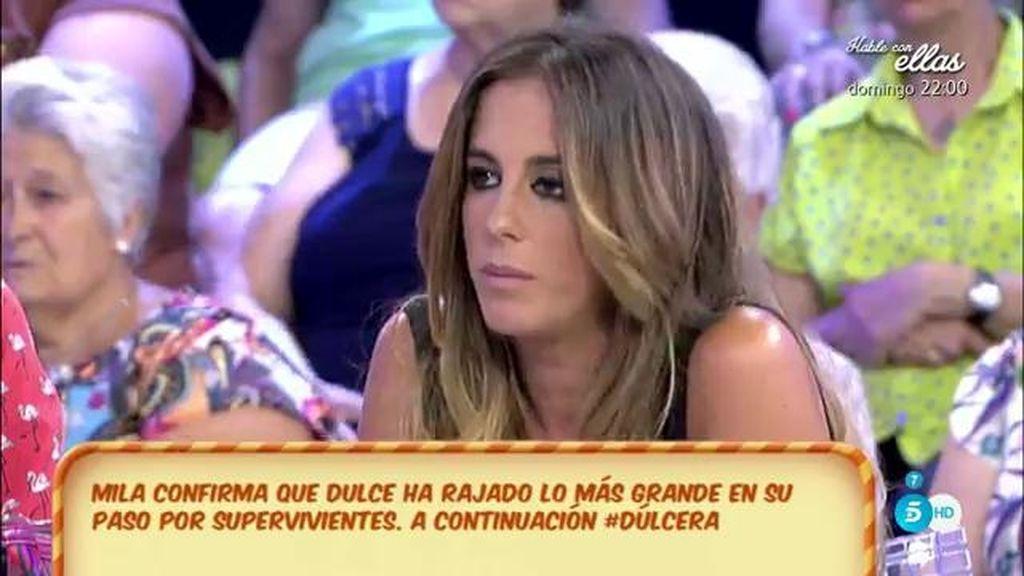 La familia Pantoja podría reclamar las imágenes de lo que Dulce ha dicho en 'SV', según Anabel Pantoja